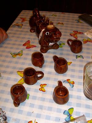 Dachshund teapot