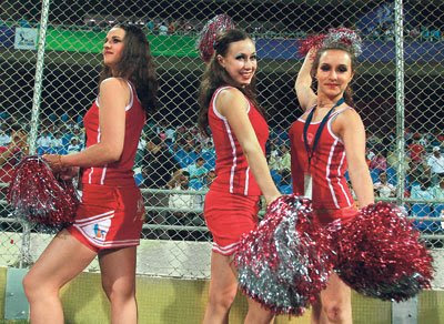 DLF IPL 2009 Rajasthan Royals Cheerleaders Photos (Jaipur  Cheerleaders)