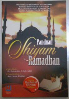 Panduan Shiyam Ramadhan