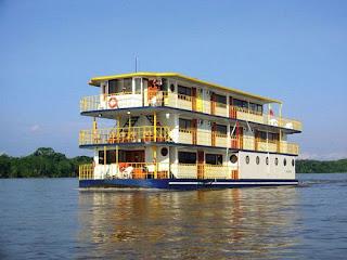 Hotel flotante en Ecuador