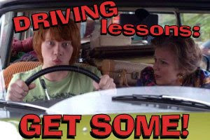 Poster for Driving Lessons (movie)
