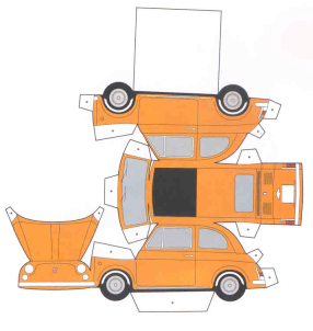 modellino Fiat 500