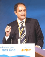 Francisco Camps, president del levante español