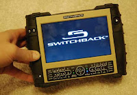 Switchback rugged UMPC