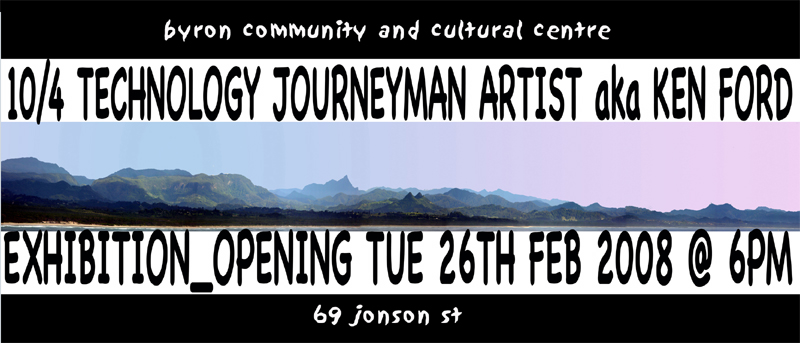 10/4 Technology Journeyman Artist @ BCCC