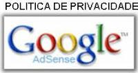 Política de  Privacidade - Google AdSense