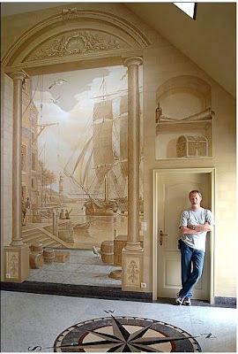 3D Wall Paintings Illusions