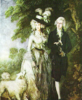 T. Gainsborough painting,Morning Walk