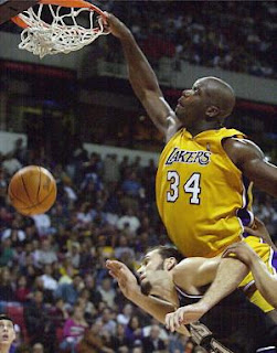 Image result for shaq posterize