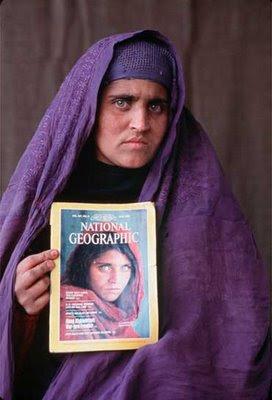 Los ojos de la niña afgana Sharbat Gula (5/5)