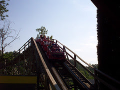 Rampage Coaster - Alabama's Adventure