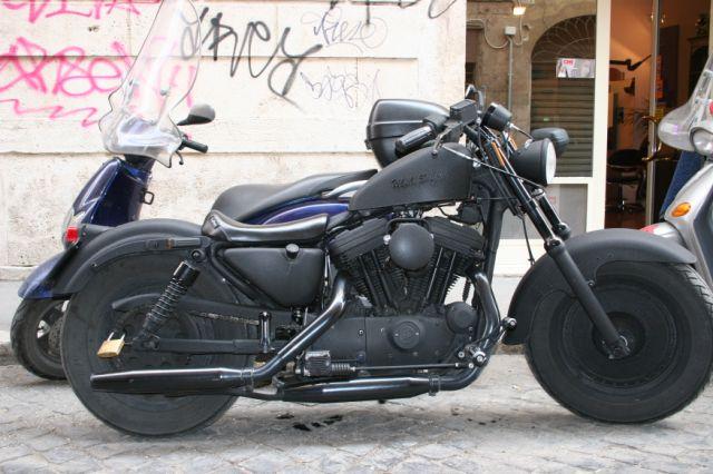 Crazy Harley Bike