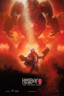 Hellboy 2: The Golden Army New York Comic Con Poster by Artist Drew Struzan