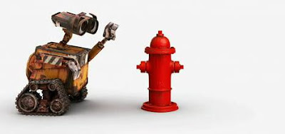 Wall-E vs Tricky Fire Hydrant