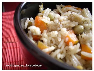 Simple Vegetable Rice Recipe - Vegetable Rice Recipe