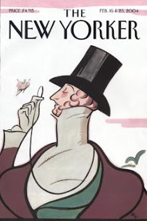 New Yorker Cover - Eustache Tilley by Rea Irvin