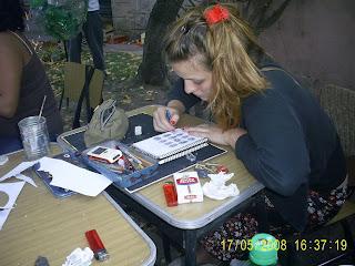 Antonella Peretti en la muestra