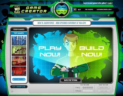 Cartoon Network Juegos De Ben 10 Alien Force Game Creator