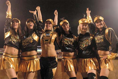IPL Twenty Twenty : Kolkata Knight Riders Cheerleaders Photos (KKR  Cheerleaders)