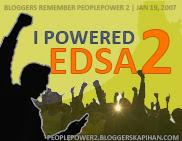 Beterano ako ng EDSA2!