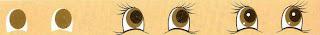 pintar olhos