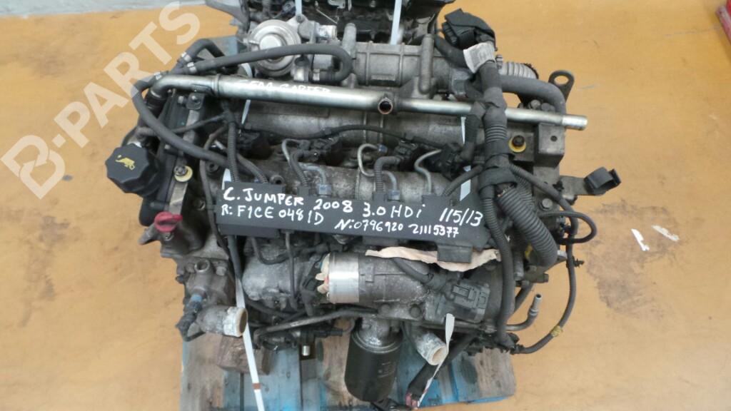 Engine Citroen Jumper Bus 3 0 Hdi 155 079692021115377 B Parts