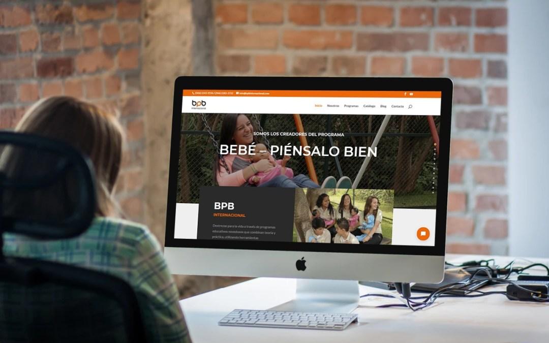 Sitio Web de BPB Internacional