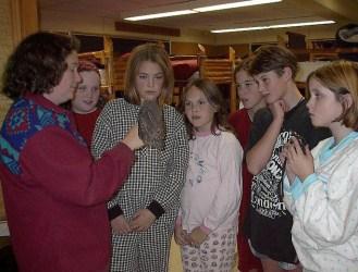 NSWO _ kids & Northern Saw-whet Owl