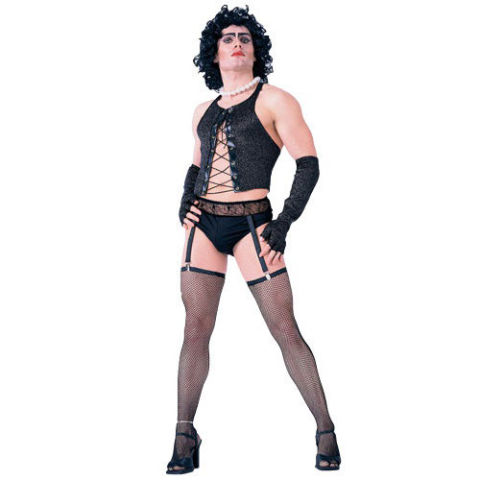 $40 BUY NOW This one is definitely for the more daring. If you're willing to bear it all and go as the iconic Frank N. Furter, props to you. Time Warp the night away in this outfit (or lack thereof).