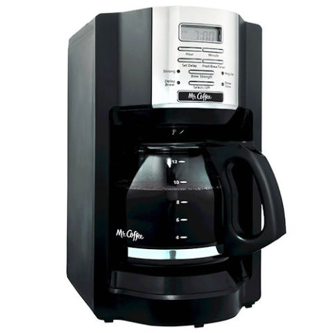 Best Coffee Machines: Mr. Coffee 12-Cup Programmable Coffee Maker