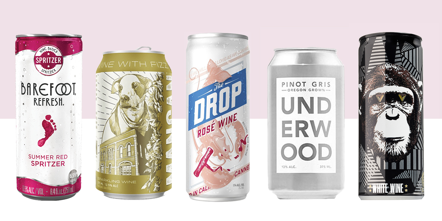 12 Best Canned Wines For Fall 2018 Delicious Wine