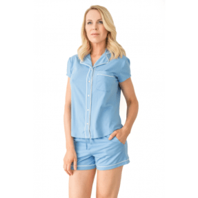 Shirt, $78 BUY NOWShorts, $58 BUY NOW Lusome makes pajams that are specifically designed to keep you cool at night, and we won't be the first to say that yes, they actually work!If you prefer to stay covered when you sleep,there's a long-sleeve top andpants option that still kept us cool at night.