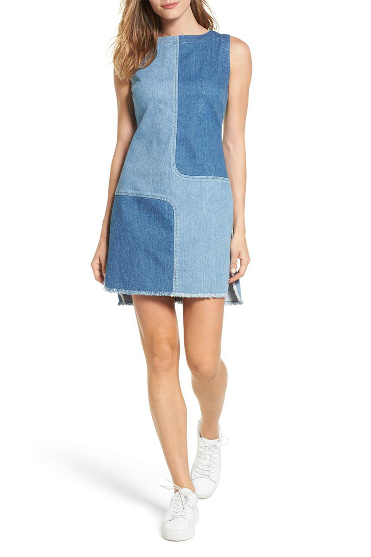 10 Best Denim Dresses For Spring 2018 Jean Chambray And