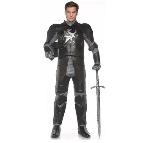 $70 BUY NOW Very close in theme to Game of Thrones armor, this costume is perfect to tag along with your friends who are already planning on going as Jon Snow and Daenerys.