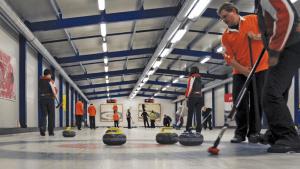 Budapesti curling pálya slider háttér