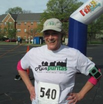 finisher of Run Puritas 5K and 1mile fun run/walk