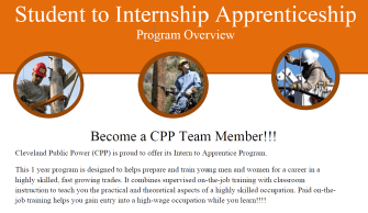 2016 Student to Internship Program CPP snapshot