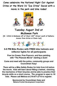 Ice Crime Social and Bike Rodeo picture
