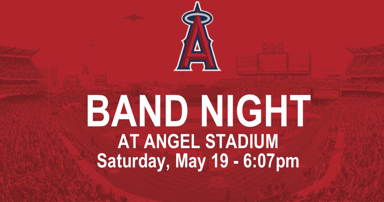 Angel Stadium Band Night