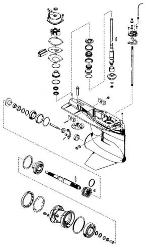 Parts for Mercury Mariner Outboards