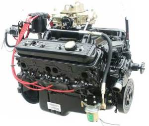 New 57 L Vortec Base Marine Engine with Carburetor, Intake Manifold  Images  Frompo