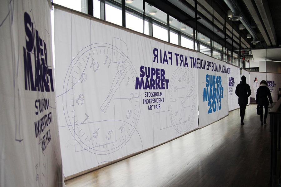 Supermarket – Stockholm Independent Art Fair 2013. Photo: Somei Chan