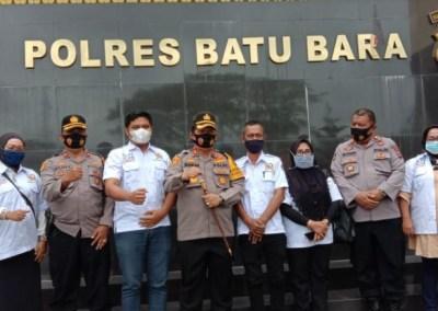BPI KPNPA RI Batu Bara Berikan Penghargaan Kepada Kapolres AKBP Ikhwan Lubis