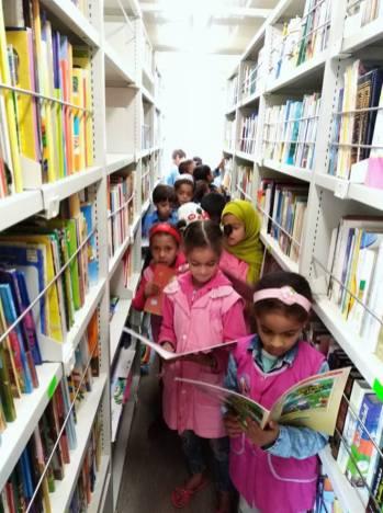 المكتبة المتنقلة بلدية دلدول (7)