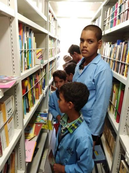 المكتبة المتنقلة بلدية قطارة (9)