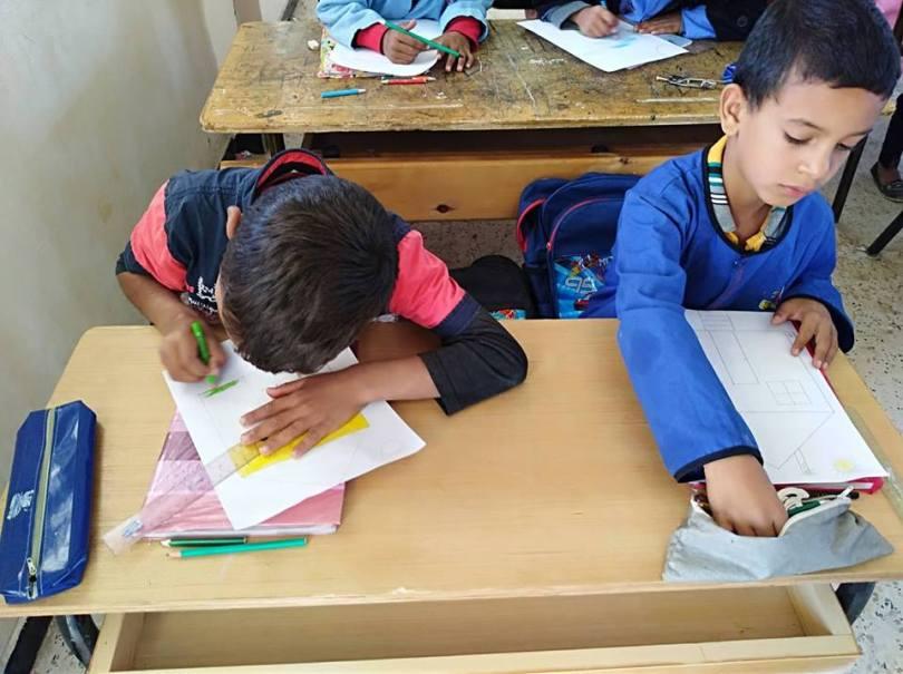 المكتبة المتنقلة في بلدية سيدي بايزيد (1)