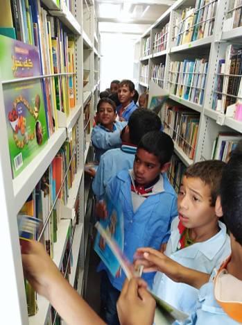 المكتبة المتنقلة في بلدية سيدي بايزيد (12)