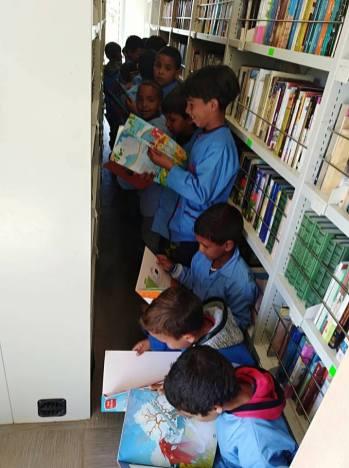 المكتبة المتنقلة في بلدية سيدي بايزيد (14)