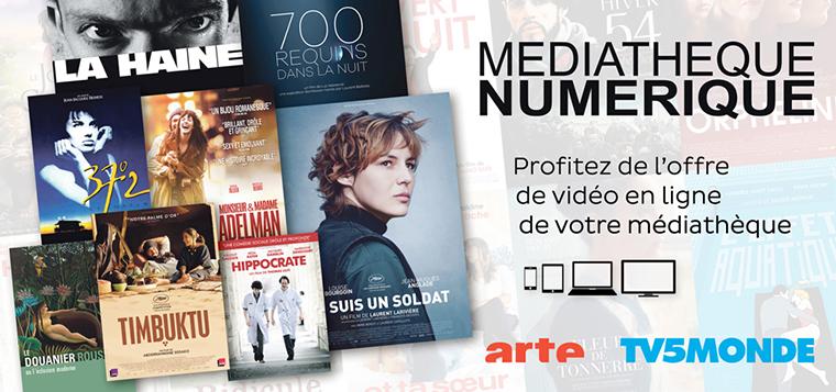 Logo plateforme La Bibliothèque numérique