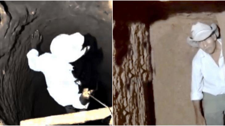 18年間穴を掘る老人